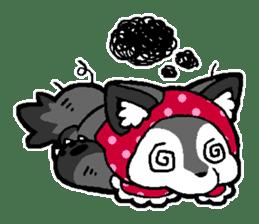 LITTLE RED HOOD WOLF-CHAN sticker #1470030