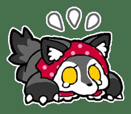 LITTLE RED HOOD WOLF-CHAN sticker #1470031