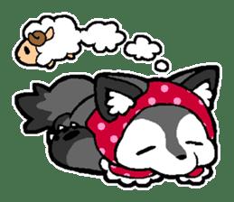 LITTLE RED HOOD WOLF-CHAN sticker #1470032