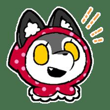 LITTLE RED HOOD WOLF-CHAN sticker #1470034