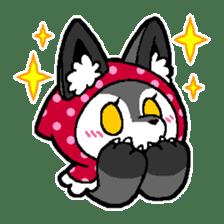LITTLE RED HOOD WOLF-CHAN sticker #1470036