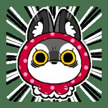 LITTLE RED HOOD WOLF-CHAN sticker #1470037