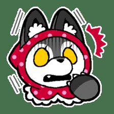 LITTLE RED HOOD WOLF-CHAN sticker #1470039