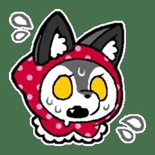 LITTLE RED HOOD WOLF-CHAN sticker #1470040