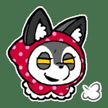 LITTLE RED HOOD WOLF-CHAN sticker #1470042