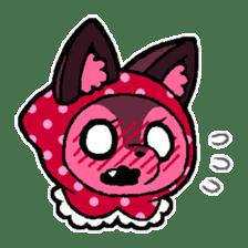 LITTLE RED HOOD WOLF-CHAN sticker #1470045