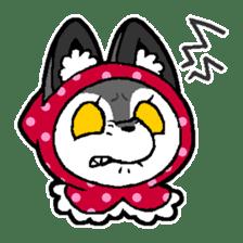 LITTLE RED HOOD WOLF-CHAN sticker #1470046