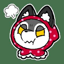 LITTLE RED HOOD WOLF-CHAN sticker #1470047