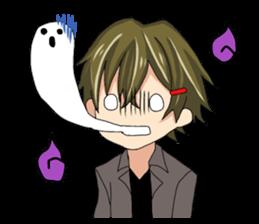 A fiddly boy! sticker #1471487