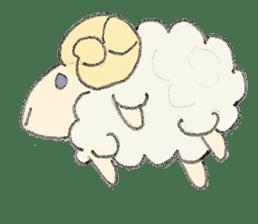 sheepy sticker #1472288