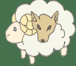 sheepy sticker #1472293