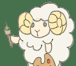 sheepy sticker #1472294