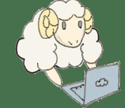 sheepy sticker #1472313