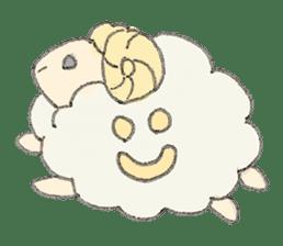 sheepy sticker #1472319