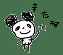 panda-chan sticker sticker #1473009