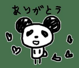 panda-chan sticker sticker #1473032