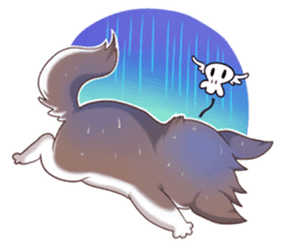 Cocoa Siberian Husky Vol.1 sticker #1473236