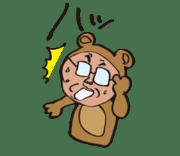 DOG&BEAR&FROG sticker #1473708
