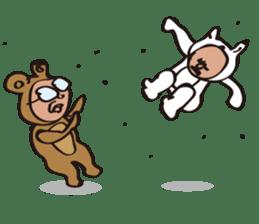 DOG&BEAR&FROG sticker #1473718