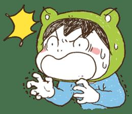Like a frog, like a rabbit? sticker #1475344