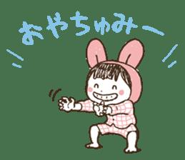 Like a frog, like a rabbit? sticker #1475351