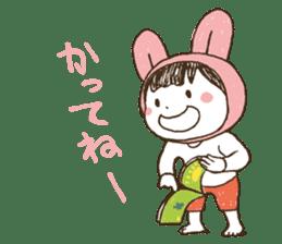 Like a frog, like a rabbit? sticker #1475352