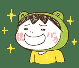Like a frog, like a rabbit? sticker #1475354