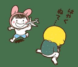 Like a frog, like a rabbit? sticker #1475365