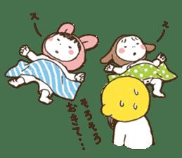 Like a frog, like a rabbit? sticker #1475366