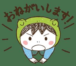 Like a frog, like a rabbit? sticker #1475372