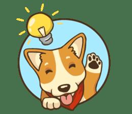 Cute Corgi - Adorable Life sticker #1475497