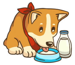 Cute Corgi - Adorable Life sticker #1475506