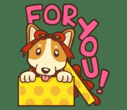 Cute Corgi - Adorable Life sticker #1475508