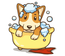 Cute Corgi - Adorable Life sticker #1475509