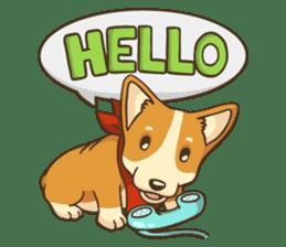 Cute Corgi - Adorable Life sticker #1475512