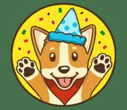 Cute Corgi - Adorable Life sticker #1475516