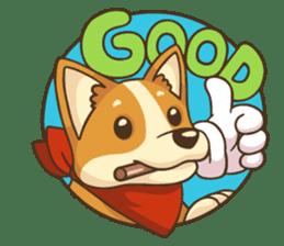Cute Corgi - Adorable Life sticker #1475529