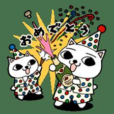 Nekojiru Sticker Nya-ko & Nyatta sticker #1476952