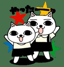 Nekojiru Sticker Nya-ko & Nyatta sticker #1476965