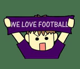 Watching soccer games Sticker sticker #1477128