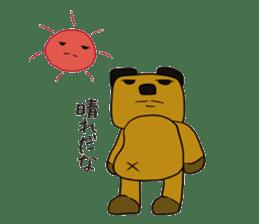 Cheeky bear Sticker sticker #1477296