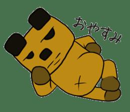 Cheeky bear Sticker sticker #1477309