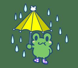 Hop Step Cute Frog sticker #1478801