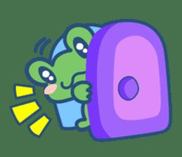 Hop Step Cute Frog sticker #1478802