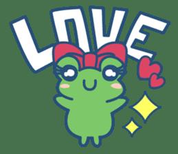 Hop Step Cute Frog sticker #1478811