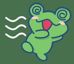 Hop Step Cute Frog sticker #1478813