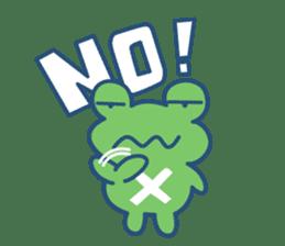 Hop Step Cute Frog sticker #1478815