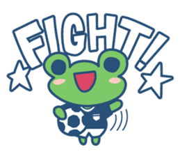 Hop Step Cute Frog sticker #1478816