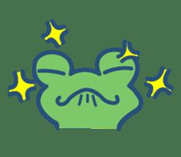 Hop Step Cute Frog sticker #1478818
