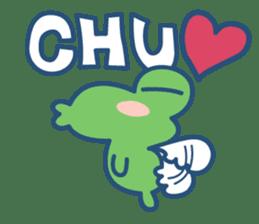 Hop Step Cute Frog sticker #1478823